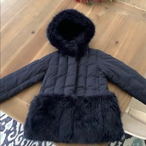 J. crew crewcuts faux fur jacket